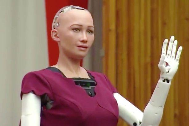 Robot sufia