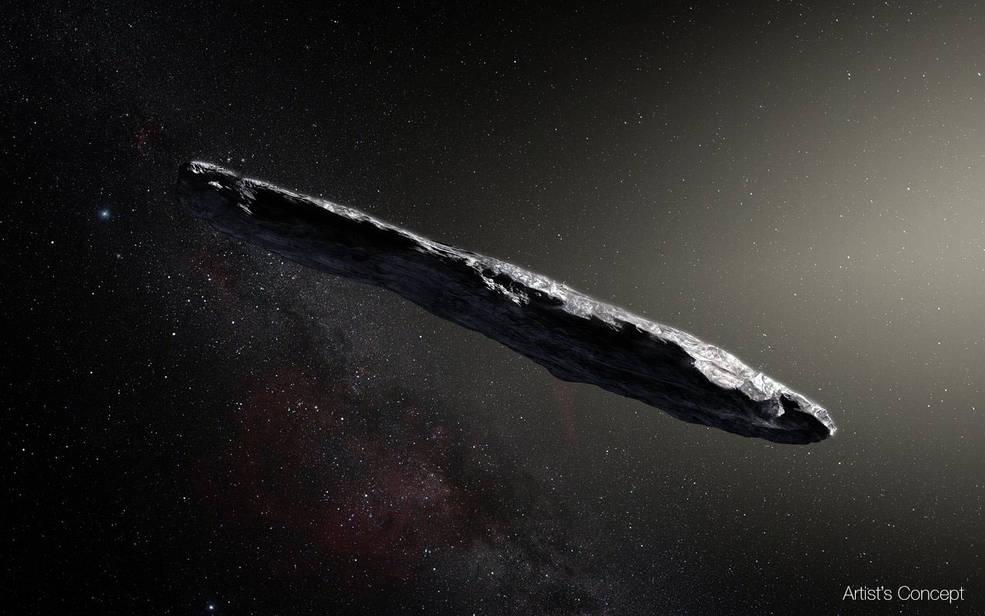 interstellar asteroid nasa