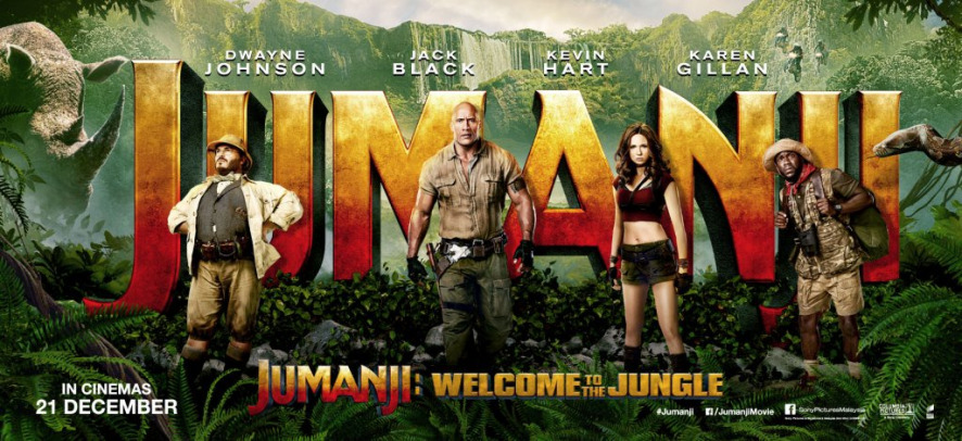Jumanji : Welcome to the Jungle Movie review